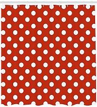 Retro polka dot round High-definition printed