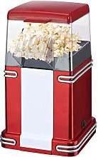 Retro Popcorn Maker Red 50s Style Electronic Hot