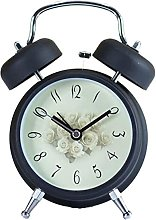Retro Silent Alarm Clock Fashion Creative