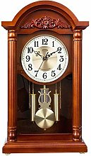Retro Sitting Clock,Hourly Chime Function