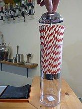 Retro Straw Dispenser Vintage Straw Holder