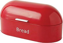 Retro Style Dome Shaped Bread bin, Bread Box - Red