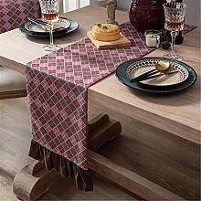 Retro Style Household Polyester Table Runner,