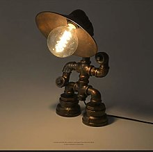 Retro Style Table Lamp Industrial Vintage Light