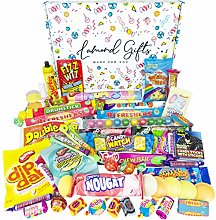 Retro Sweets Gift Box Selection Hamper | 60+ Sweet
