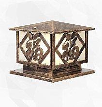 Retro Traditional Victoria Outdoor Table Lamp
