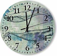Retro Vintage Kitchen Decorative Wall Clock Silent