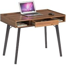Retro Vintage Style Computer and Writing Desk with
