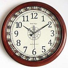 Retro Wall Clock, Silent Wall Clock, Wall