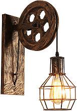 Retro Wall Lamp Creative Vintage Style Wall Light