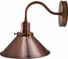 Retro Wall Light Lamps, Island Edison Swan Neck