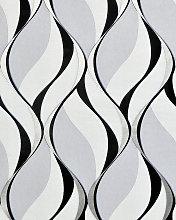 Retro wallpaper wall EDEM 1054-10 vinyl wallpaper
