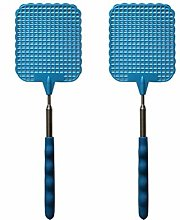 RetroFun Fly Swatter,2Pieces Manual Extendable