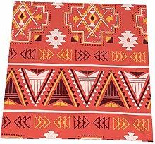 RETRUA Boho Geometry Cloth Dinner Napkins 6 Pcs