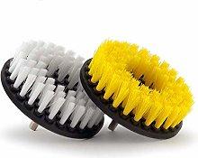 RETYLY 2 Piece, Soft & Medium Drill Brush- Power