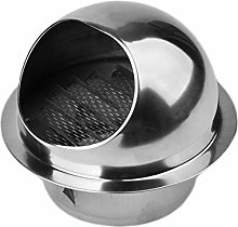 RETYLY 304 Stainless Steel Air Vent Round Grille