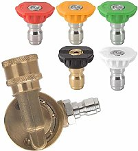 RETYLY Power Pressure Washer Nozzle Tips and Quick