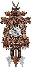 RETYLY Vintage Home Decorative Bird Wall Clock