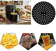 Reusable Air Fryer Liners,Non Stick Turntable Mat