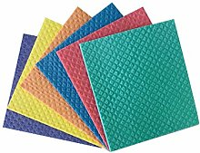 Reusable Cleaning Cellulose sponge cloths (Pack of