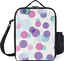 Reusable Insulated Cooler Bag Leakproof Lunch Box