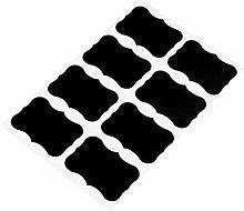 Reusable PVC Self Adhesive Blackboard Labels