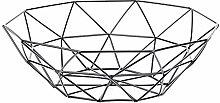 Reusable Shopping Bag Stainless Steel Geometric