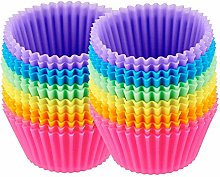 Reusable Silicone Baking Cups, Cupcake Liners