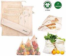 Reusable Vegetable Produce Bags - String Bag