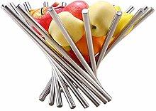 Reuvv Stainless Steel Rotation Fruit Basket