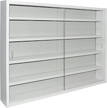 REVEAL - 4 Shelf Glass Wall Collectors Display