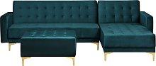 Reversible Corner Modular L Shaped Sofa Bed Chaise