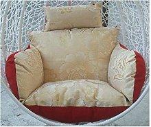 Reversible Cushion Swing Chair, Wicker Hanging Egg