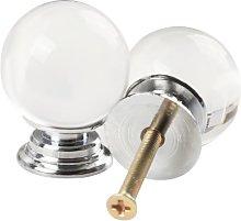 Revesun 10PCS/LOT Diameter 30mm Clear Crystal