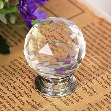 Revesun 6PCS/LOT Diameter 40mm Crystal Glass Door