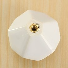 Revesun 6X White Diamond Shape Ceramic Cupboard