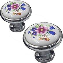 Revesun 8PCS Ceramic Drawer Door Cabinet Cupboard