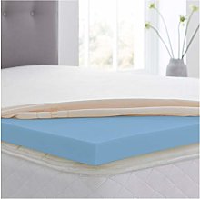 "Revive Direct Cool Blue 1"" Double Memory Foam"