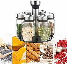 Revolving Spice Rack Organizer, Spice Rack with
