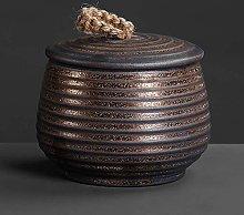 REWD Traditional Tea Caddy Sealed Lids Storage