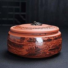 REWD Traditional Tea Caddy Sealed Lids Tea Tin