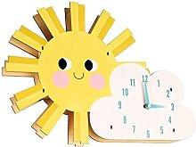 Rex London Hello Sunshine Wooden Wall Clock