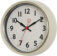 Rex London - Retro Ivory Wall Clock - ivory |