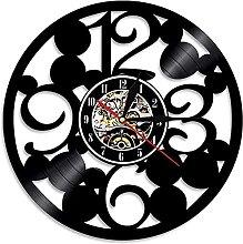 RFTGH 3D modern silent vinyl wall clock big vinyl