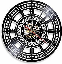 RFTGH Big Ben Vinyl Clock London Westminster Wall