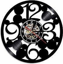 RFTGH Big digital wall clock modern kitchen wall