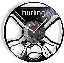 RFTGH Hurling Decorative Wall Clock VInyl Art-Wall