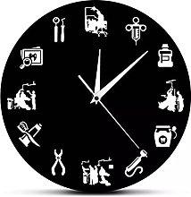 RFTGH Modern wall clock for hygienists   Dental