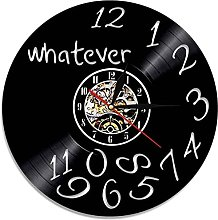 RFTGH Vinyl record clock wall clock with color