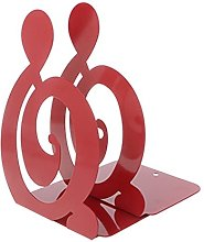 RG-FA Musical Note Metal Bookends Iron Support